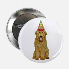 """Goldendoodle Birthday 2.25"""" Button"""