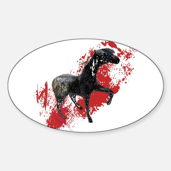 Indian War Pony Decal