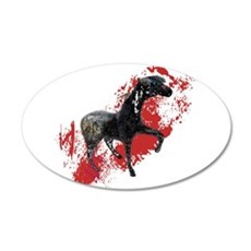 Indian War Pony Wall Decal