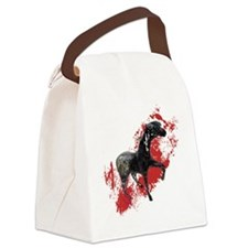 Indian War Pony Canvas Lunch Bag