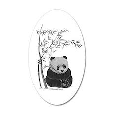 Little Panda Wall Decal