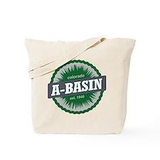 Arapahoe Basin Ski Resort Colorado Green Tote Bag