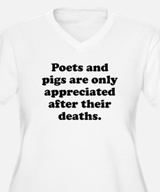 Poets And Pigs Plus Size T-Shirt