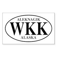 Aleknagik Rectangle Decal
