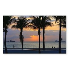 Fort Lauderdale Sunrise Decal