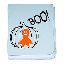 Halloween Ghost baby blanket