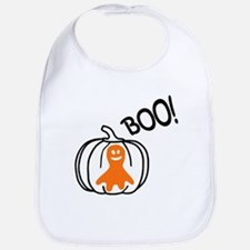 Halloween Ghost Bib
