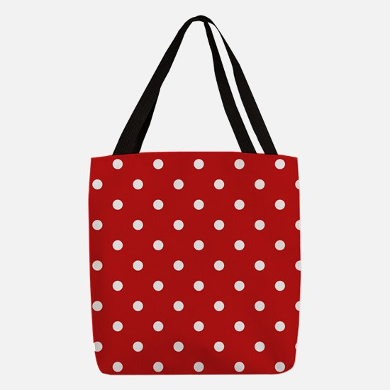 dots-white-red_ff.png Polyester Tote Bag