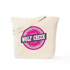 Wolf Creek Ski Resort Colorado Pink Tote Bag