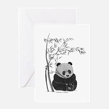 Little Panda Greeting Cards