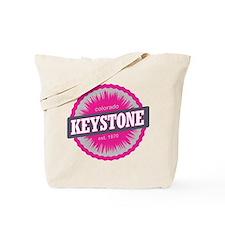 Keystone Ski Resort Colorado Pink Tote Bag