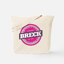 Breckenridge Ski Resort Colorado Pink Tote Bag