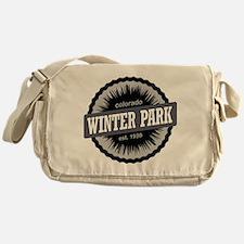 Winter Park Ski Resort Colorado Black Messenger Ba