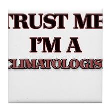 Trust Me, I'm a Climatologist Tile Coaster
