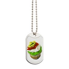 Cinco de Mayo cupcake Dog Tags