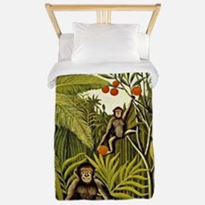 The Monkeys in the Jungle, Rousseau pai Twin Duvet