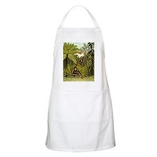 The Monkeys in the Jungle, Rousseau painting Apron