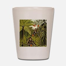 The Monkeys in the Jungle, Rousseau pai Shot Glass