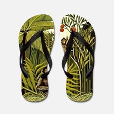 The Monkeys in the Jungle, Rousseau pai Flip Flops