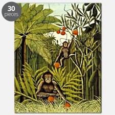 The Monkeys in the Jungle, Rousseau paintin Puzzle