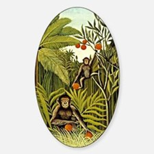 The Monkeys in the Jungle, Rousseau Decal