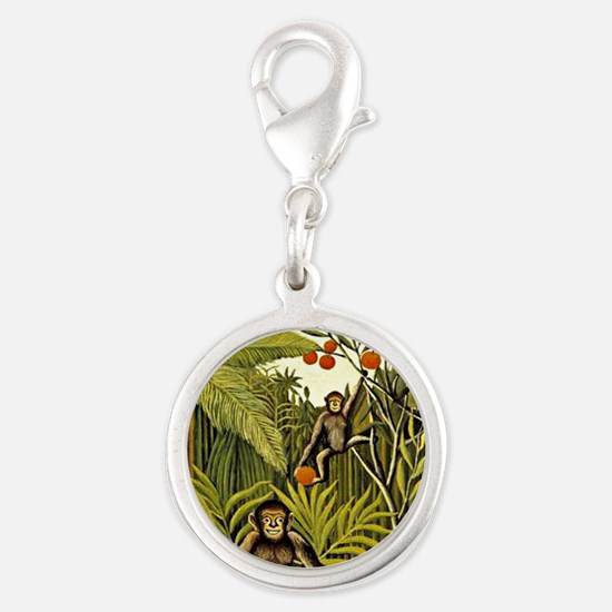 The Monkeys in the Jungle, Rou Silver Round Charm