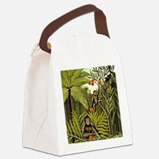 The Monkeys in the Jungle, Rousse Canvas Lunch Bag