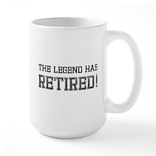 The legend has retired! Coffee Mug