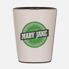 Mary Jane Ski Resort Colorado Lime Shot Glass