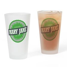 Mary Jane Ski Resort Colorado Lime Drinking Glass