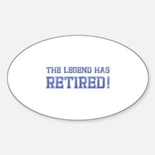 The legend has retired! Decal
