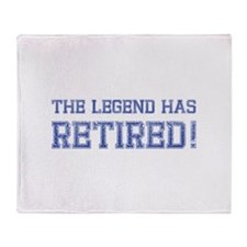 The legend has retired! Stadium Blanket