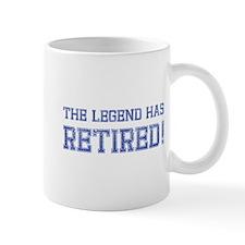 The legend has retired! Mug
