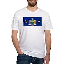 New York State Flag e2 T-Shirt
