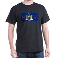 New York State Flag e3 T-Shirt