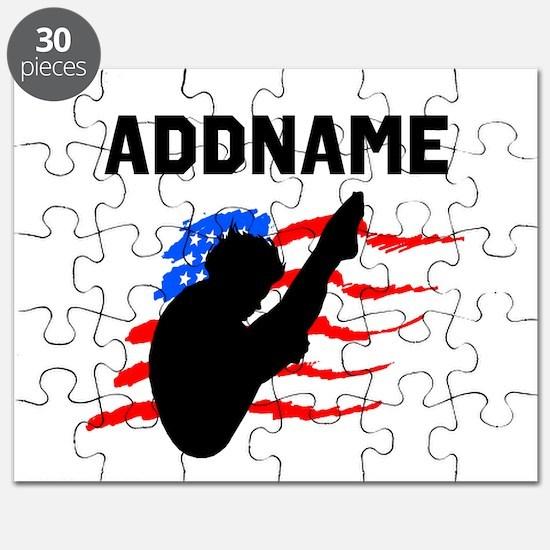 USA DIVER Puzzle