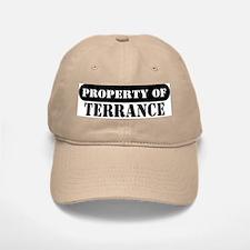 Property of Terrance Baseball Baseball Cap