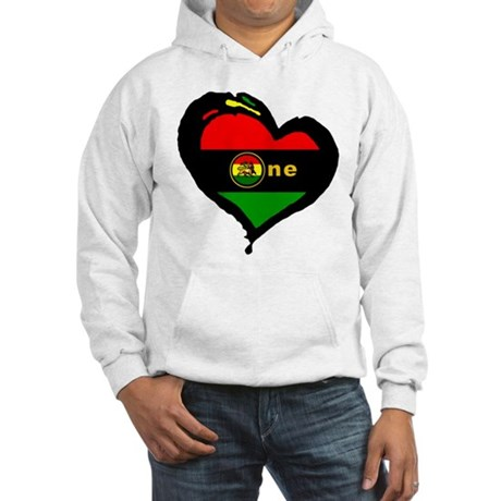 Afro Rasta Lion Hooded Sweatshirt