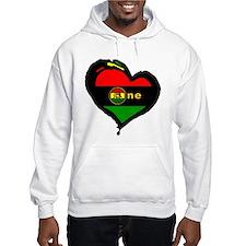 Afro Rasta Lion Hoodie