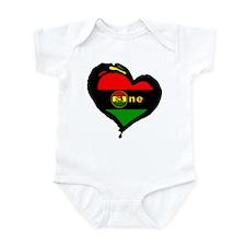 Afro Rasta Lion Infant Bodysuit