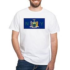 New York State Flag e5 T-Shirt