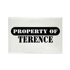 Property of Terence Rectangle Magnet (100 pack)