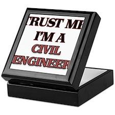 Trust Me, I'm a Civil Engineer Keepsake Box