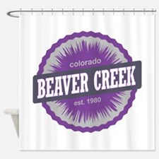 Beaver Creek Ski Resort Colorado Purple Shower Cur