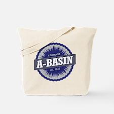 Arapahoe Basin Ski Resort Colorado - Blue Tote Bag