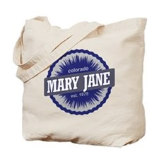 Mary Jane Ski Resort Colorado - Blue Tote Bag