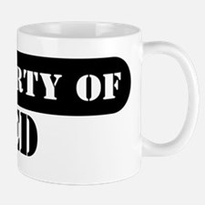 Property of Ted Mug