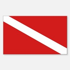 SCUBA Rectangle Decal