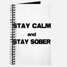 Stay Calm Stay Sober Journal
