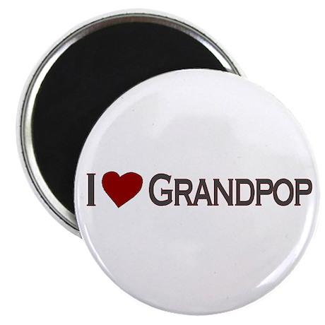I Love Grandpop Magnet